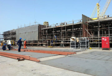 MIDDLE EAST STEEL WORKS PROJECT- FLOATING JETTY