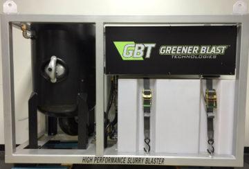 1) Greener Blast System - Back
