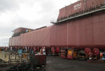 New Ship (Philippines Batangas - M962 Semi Sub Petrobras Frade Majuro 34)