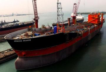 Ship Conversion (Singapore - Armada Kraken FPSO)