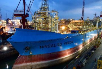 Ship Conversion (Singapore - FPSO Ningaloo Vision)