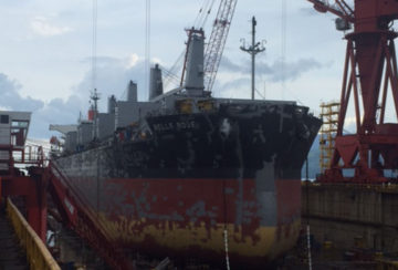 Ship Repair (Philippines - Belle Rose)