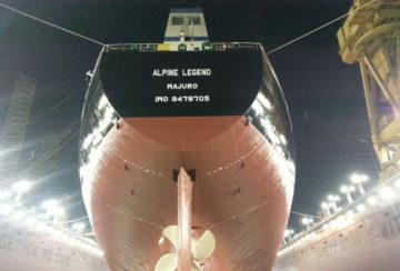 Ship repair (Middle East - Alpine Legend)