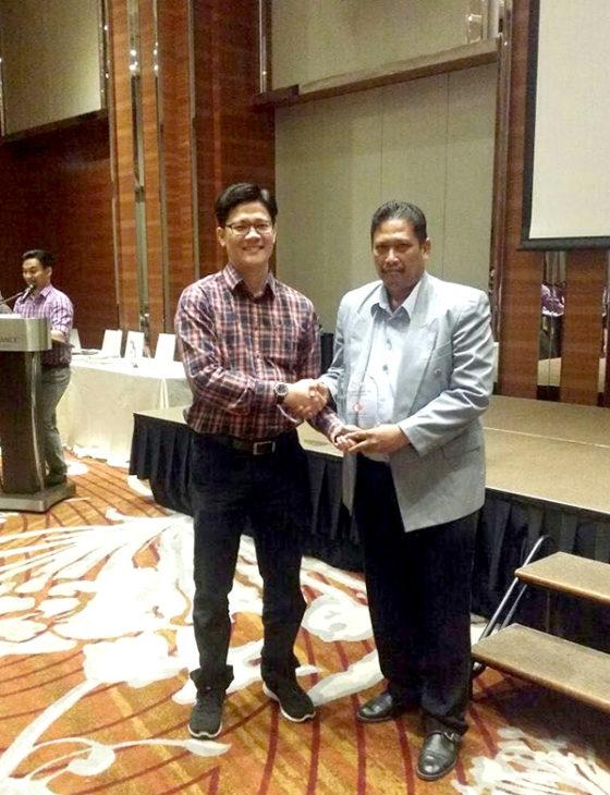 1. Apr 2016 - Best Contractor Award (Malaysia Malikai TLP Deepwater Project) - 1